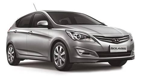 Hyundai Solaris хетчбек